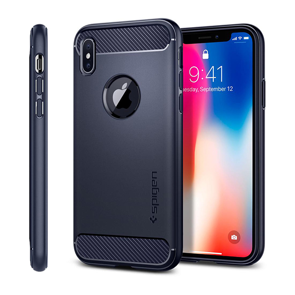 iPhone X Case Spigen Rugged Armor 22125، قاب آیفون ایکس اسپیژن مدل Rugged Armor