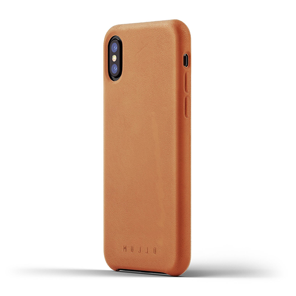 iPhone X Mujjo Leather Case 095، قاب چرمی آیفون ایکس موجو