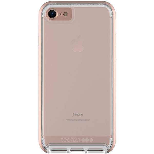 iPhone 8/7 Case Tech21 Evo Elite Polished Rose Gold، قاب آیفون 8/7 تک ۲۱ مدل Evo Elite رزگلد