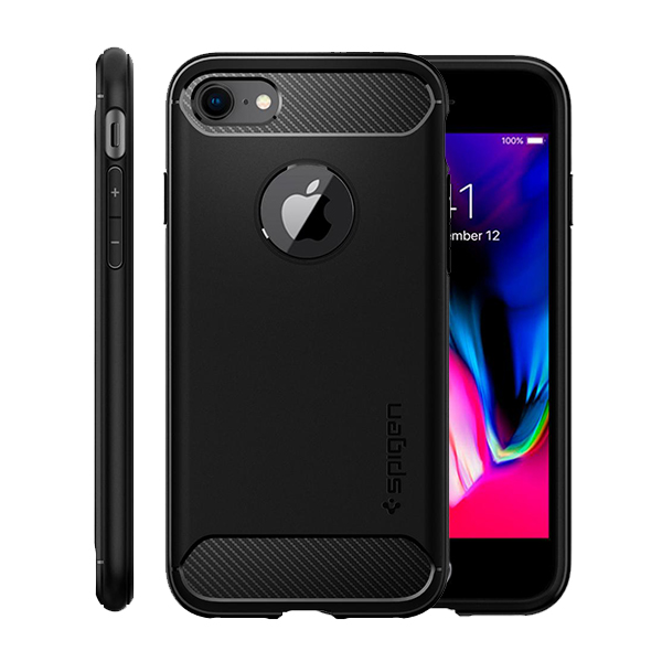 iPhone 8/7 Case Spigen Rugged Armor، قاب آیفون 8/7 اسپیژن مدل Rugged Armor