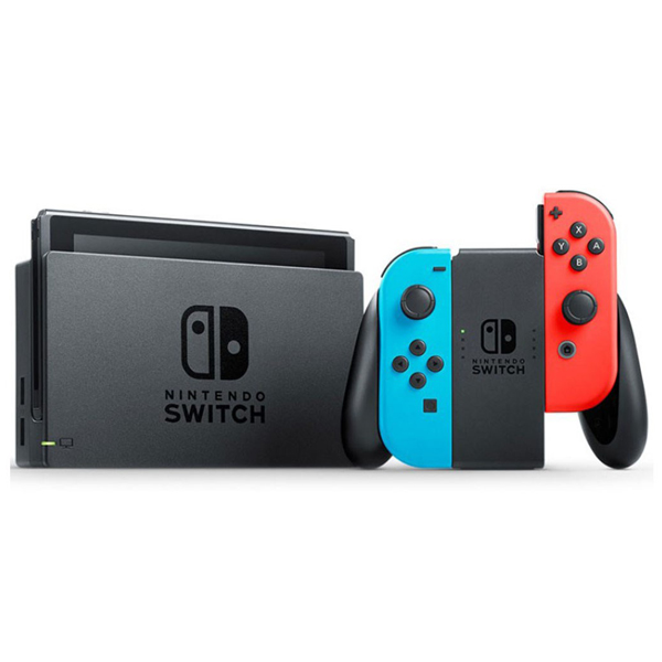 Nintendo Switch Neon Blue and Neon Red Joy-Con، نینتندو سوئیچ نئون آبی و نئون قرمز