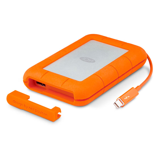 قیمت LaCie Rugged Thunderbolt 2TB‎، قیمت هاردد اکسترنال لسی تاندربولت Rugged 2TB
