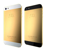 iPhone 5 Gold، آیفون 5 طلائی