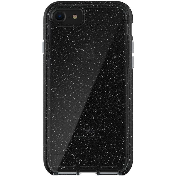 iPhone 8/7 Case Tech21 Evo Check Active Smokey Black، قاب آیفون 8/7 تک ۲۱ مدل Evo Check Active مشکی