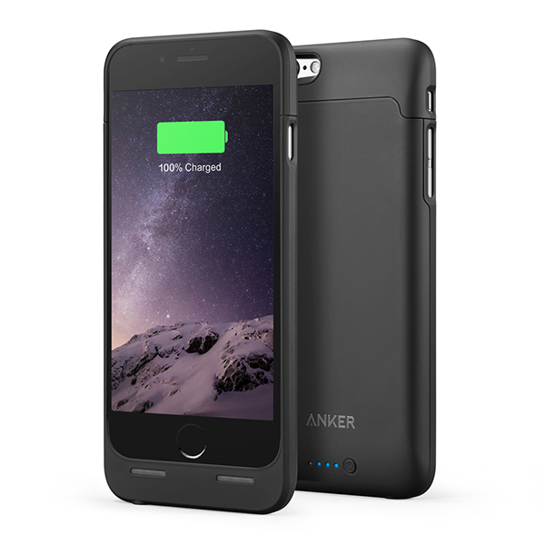 iPhone 6/6s Battery Case Anker PowerCore 2850، قاب باطری دار آیفون 6/6s انکر مدل PowerCore 2850