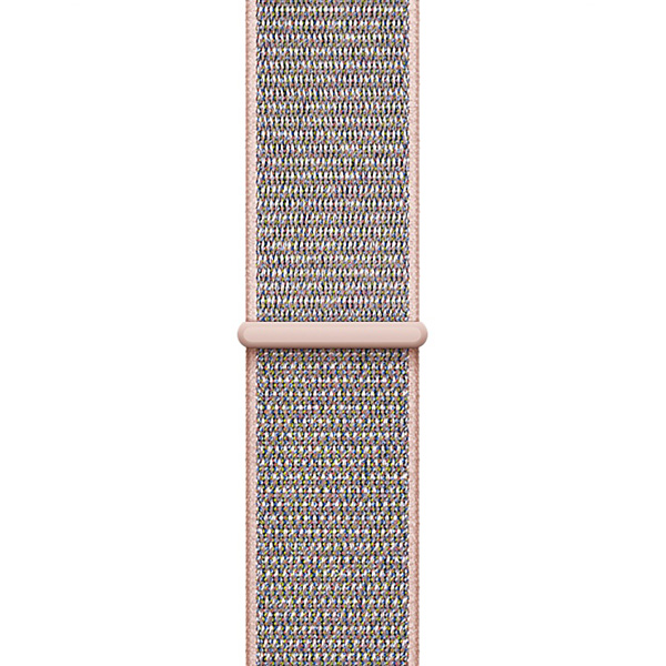 Apple Watch Band Sport Loop Nylon Pink Sand، بند اپل واچ اسپرت لوپ مدل Nylon Pink Sand