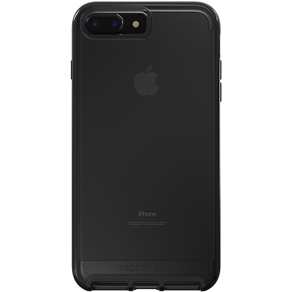 iPhone 8/7 Case Tech21 Evo Elite Brushed Black، قاب آیفون 8/7 تک ۲۱ مدل Evo Elite مشکی