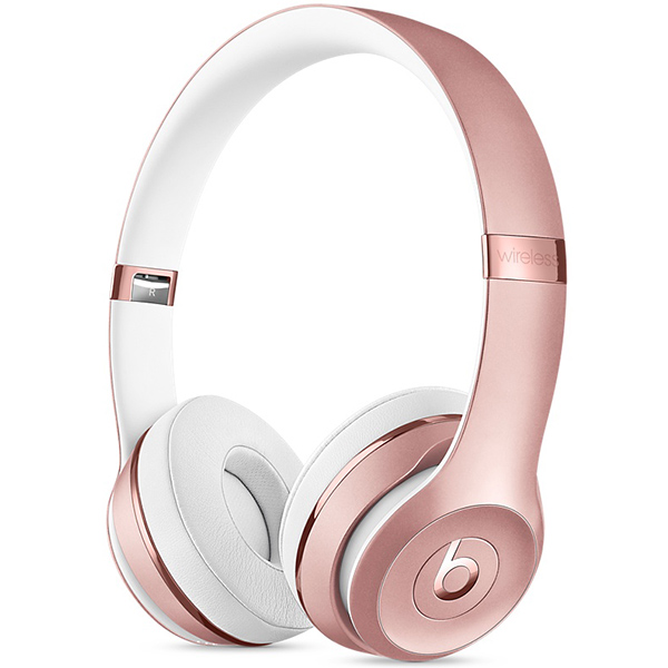 Headphone Beats Solo3 Wireless On-Ear Headphones - Rose Gold، هدفون بیتس سولو 3 وایرلس رزگلد