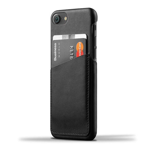 iPhone 8/7 Case Mujjo Leather Wallet 020، قاب چرمی آیفون 7 موجو مدل Leather Wallet