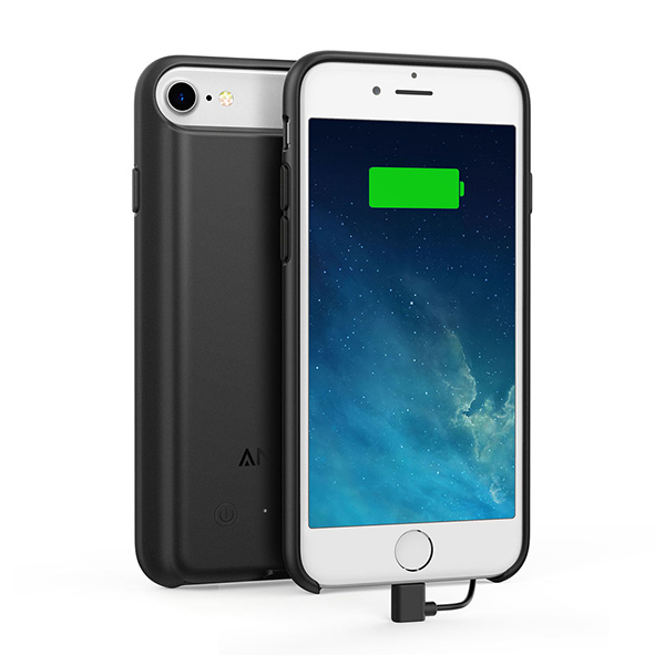 iPhone 8/7 Battery Case Anker PowerCore 2200، قاب باطری دار آیفون 8/7 انکر مدل PowerCore 2200