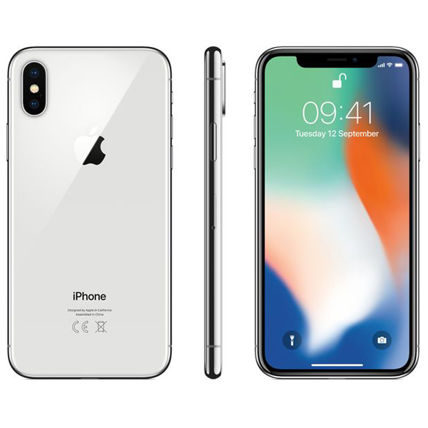 iPhone X 64 GB Silver، آیفون ایکس 64 گیگابایت نقره ای