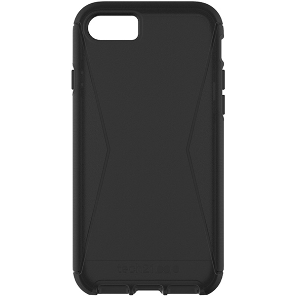 iPhone 7 Case Tech21 Evo Tactical Black، قاب آیفون ۷ تک ۲۱ مدل Evo Tactical مشکی