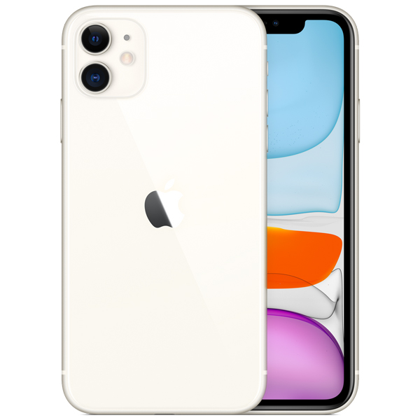 iPhone 11 64 GB White، آیفون 11 64 گیگابایت سفید
