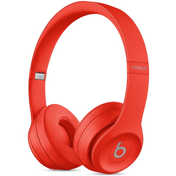 Headphone Beats Solo3 Wireless On-Ear Headphones - Red، هدفون بیتس سولو 3 وایرلس قرمز