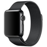 بند اپل واچ Apple Watch Band Space Black Milanese Loop ﴿ بند اپل واچ میلان مشکی ﴾
