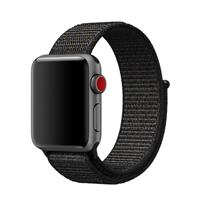 بند اپل واچ Apple Watch Band Sport Loop Nylon Black ﴿ بند اپل واچ اسپرت لوپ مدل Nylon Black ﴾