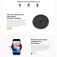 Wireless Charger Mophie Base ﴿ شارژر بی سیم موفی مدل Base ﴾