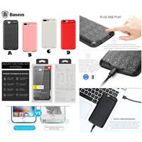 iPhone 8/7 Battery Case Baseus + Lightining Cable iPhone Baseus ﴿ قاب باطری دار آیفون 8/7 بیسوس + کابل لایتینینگ آیفون بیسوس ﴾