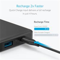 Power Bank Anker PowerCore ll Slim 10000mAh ﴿ پاور بانک انکر مدل PowerCore ll Slim 10000mAh ﴾