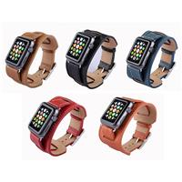 بند اپل واچ Apple Watch Band Fauve Barenia Cuffl ﴿ بند اپل واچ چرمی مدل Fauve Barenia Cuff ﴾