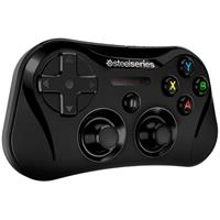 دسته بازی SteelSeries مدل Stratus مناسب برای iOS ﴿ SteelSeries Stratus Wireless Gaming Controller ﴾